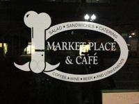 Un logo pendouillant