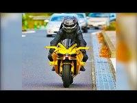 RSVP aux motoards qui apprécient une bonne dose d'adrénaline