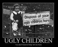 Poubelle à enfants