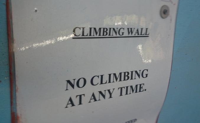 """""""Ne pas escalader. Jamais""""."""