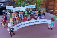 Grève chez les playmobils