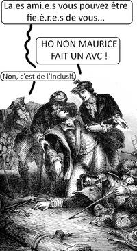 L'ÉCRITURE PAS TRÈS INCLUSIVE