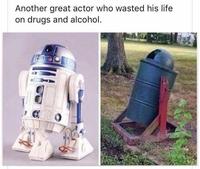 Encore un acteur tombé dans la drogue et l'alcool