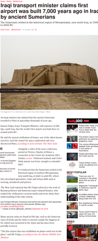 Scoop : le premier aéroport construit il y a 7 000 ans !