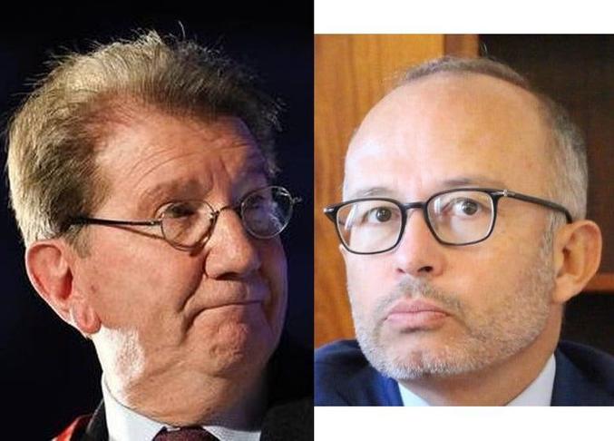 Avec l'aval de son parti, Martine Vassal compris, Guy Teissier s'est déclaré candidat à la Mairie de Marseille. Ces gens-là font terriblement dans leur froc tant ils craignent un basculement politique. Et ça ne sent pas bon, oh que non ! Ils ont fait leurs petits calculs : Sans présager de ce que décidera Samia Ghali (ex PS) et ses élus, on risque de se retrouver Samedi avec un score de 42 voix pour Vassal (54 ans) ET 42 voix pour Rubirola (63 ans). Si cette égalité persistait après un 2ème vote par exemple, c'est la doyenne (=la plus âgée) qui l'emporterait _ c'est la loi _ ! Pour ne pas risquer une telle défaite, la droite a alors poussé sur le devant de la scène Guy Teissier (75 ans, dont les sympathies envers le RN sont notoires)... Vous avez pigé ? La mairie continuerait alors à rester ce qu'elle est depuis des décennies : un EHPAD pour des friqués qui ne pensent qu'à une chose, se faire gras sur le dos des travailleurs marseillais. Pour couronner le tout, un autre LR, Lionel Royer-Perreaut, se déclare, en catastrophe, également candidat... Je repasse dans 5 mn pour distribuer les sacs à vomi...