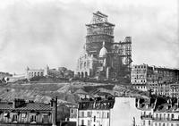 1880, construction du dôme du Sacré-Coeur