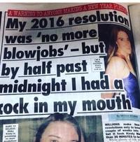 Ne pas tenir ses résolutions