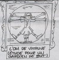 L'homme de Vitruve...