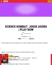 Science Kombat !
