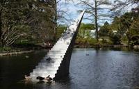 Escalier pour le paradis des canards