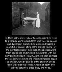 La médecine accompli des miracles