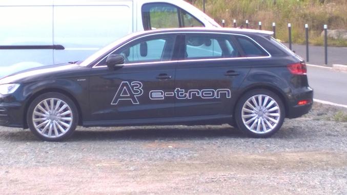 Audi e-tron, ca c'est un joli nom