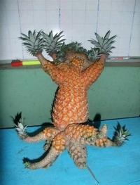 Quand t'es un ananas et que tu trouves un rôle dans un film japonais
