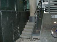 Pilier d'escalier