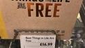Les meilleures choses dans la vie sont gratuites