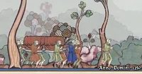 Middle ages coffin dance