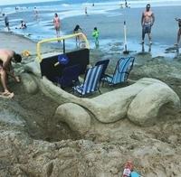 Pas de jeep sur la plage ?