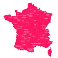 La carte de France des noms de ville à la con