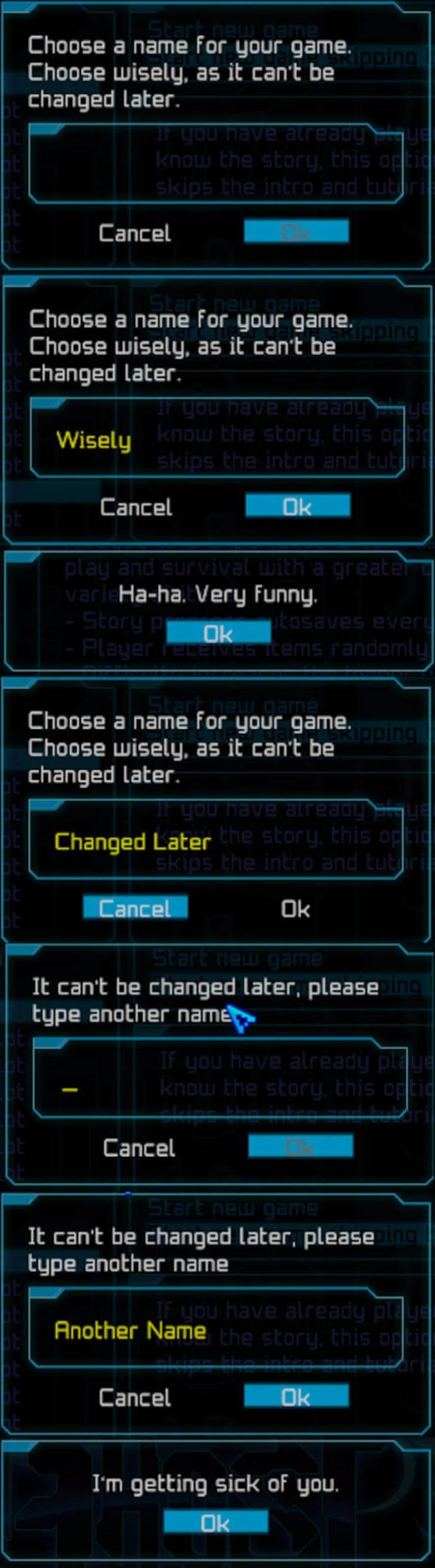 Un nom à choisir judicieusement, car il ne pourra être changer plus tard.