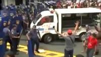 Manifestation aux Philippines