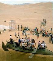 """Une scène de tournage d'un """"Starwars"""""""