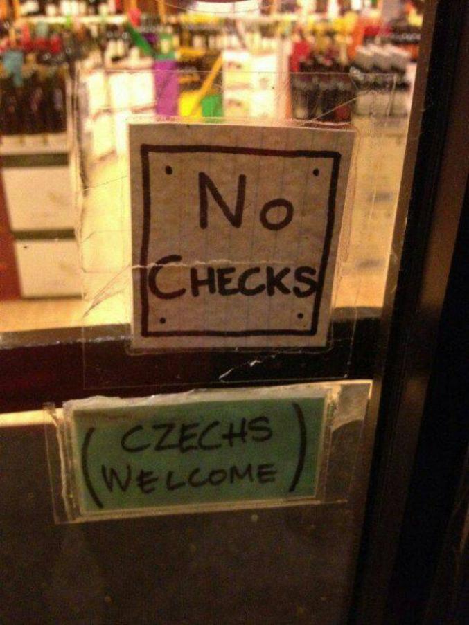 """Oui aux tchèques. Ou le fameux """"Je ne suis pas raciste, mais...""""  #RacismeOrdinaire"""