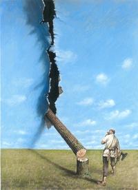 La déforestation a des répercussions