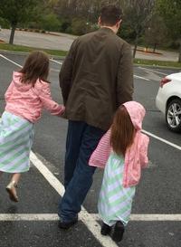 6h30 : conduire les filles à l'école !