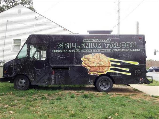 Food truck qui a de la gueule !