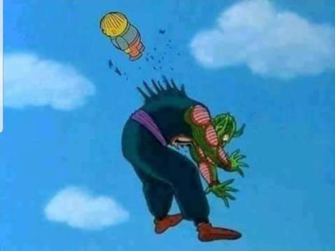 Vous vous rappelez quand Luffy tua Kermit pour libérer les Dragon Balls et les rendre à Mario afin de ressusciter Jésus en vue du combat final contre Bob l'éponge ?