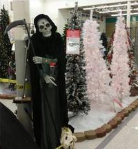 Quand halloween n'est pas fini mais que ton patron sait quelle fête lui rapporte vraiment.