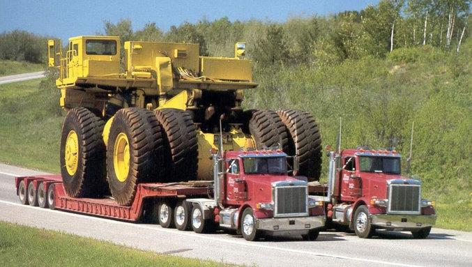 Des gros camions !
