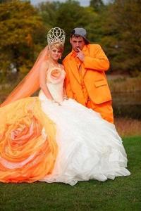 Mariage en orange