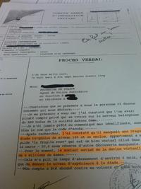 Plainte au commissariat