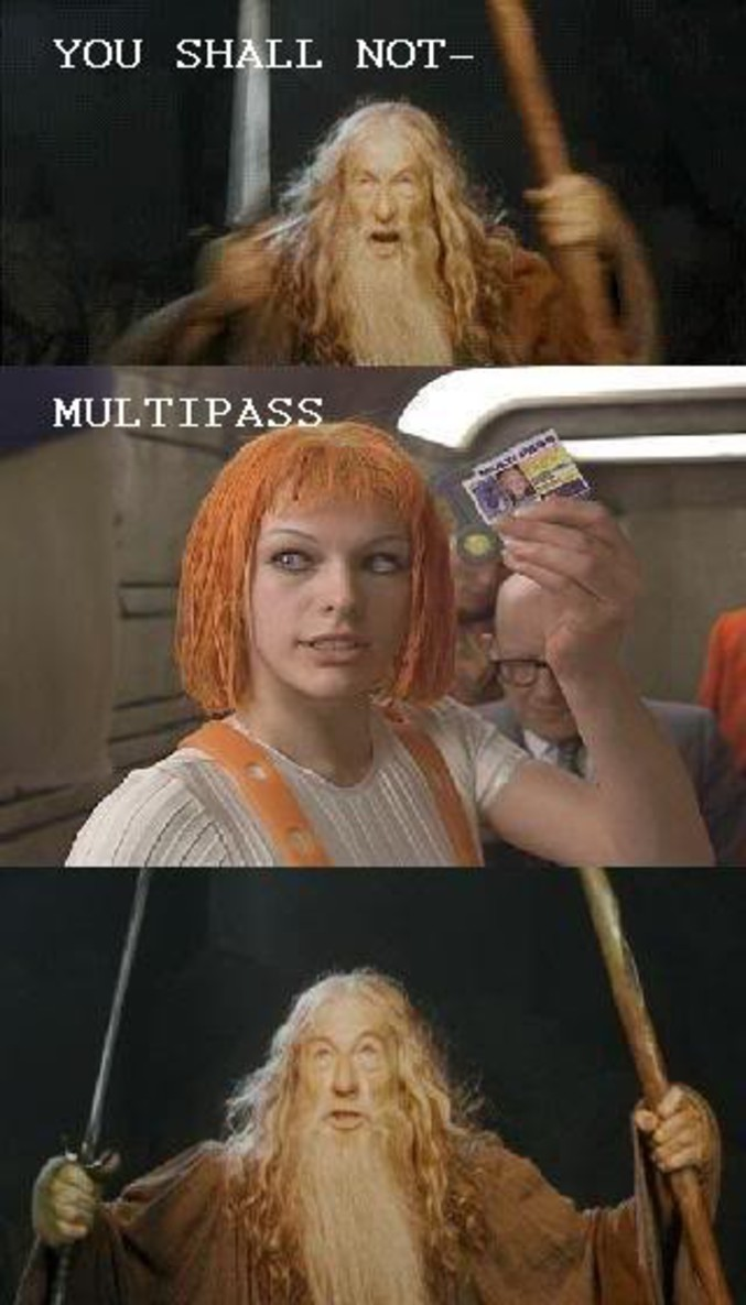 Sauf Leeloo.