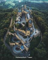 Un des châteaux de la famille des Hohenzollern