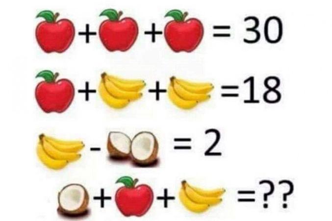 Quelle est la bonne réponse ? 14, 15, 16 ?