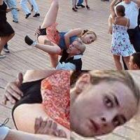 Portée de danse