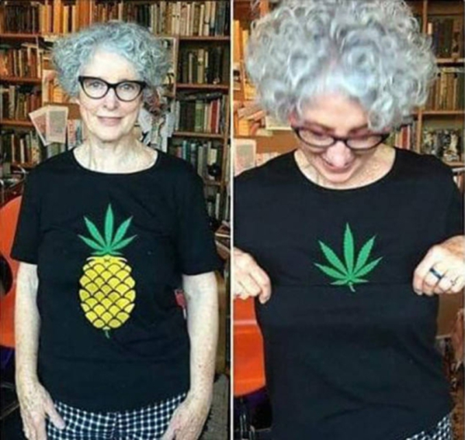 Si elle te montre son ananas... Chaud !