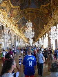 Retour incognito à Versailles